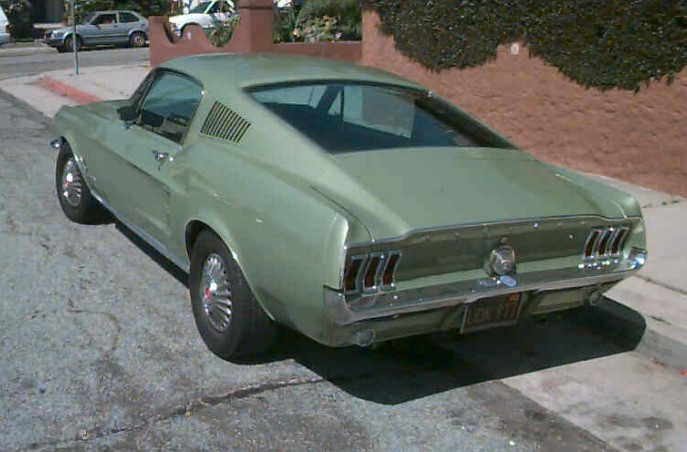 1967 Mustang Fastback Pic