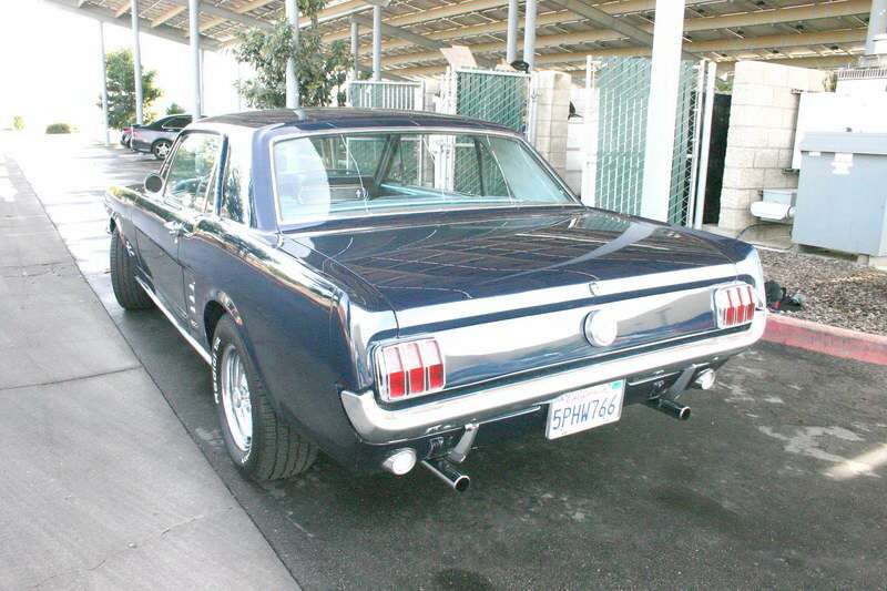 1966 Mustangs dual exhaust